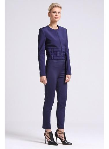 Kafes Detaylı Şık Ceket-Love'n Fashion Paris